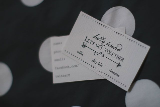 Free Printable playdate cards / play dates and picnics  ||  armory