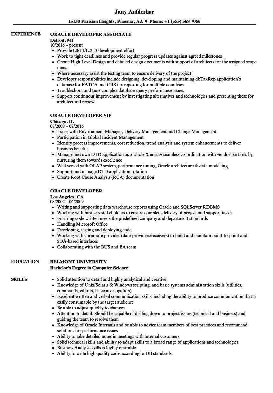 sql server dba resume sample  free design template
