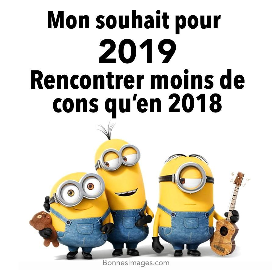Bonne Année 2019 image 9 Humor funny christmascard