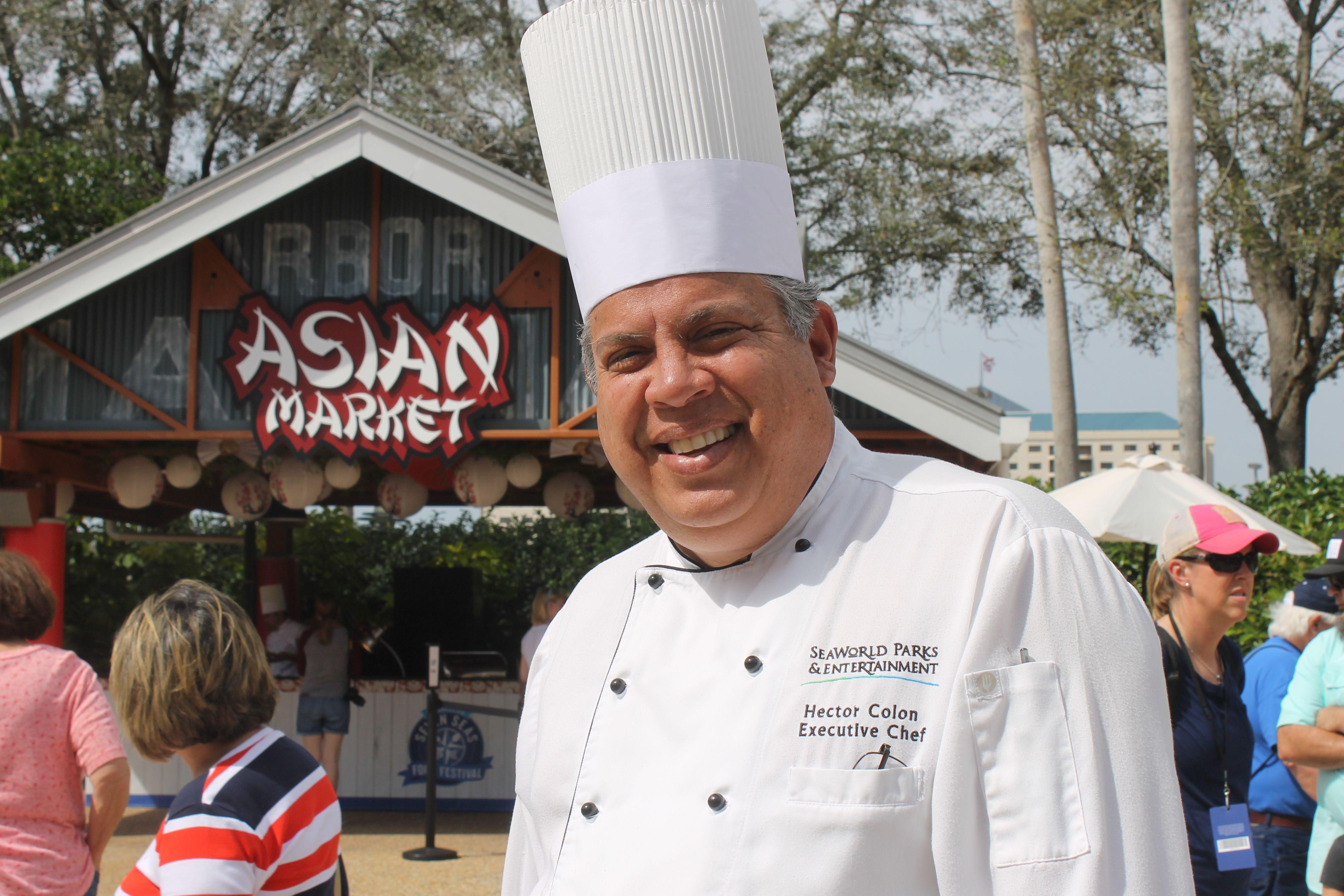 Chef SeaWorld Food Festival