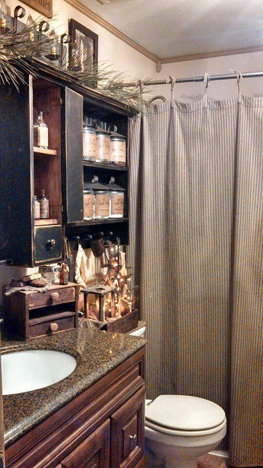 türk #PrimitiveBathrooms | Primitive bathroom decor ...