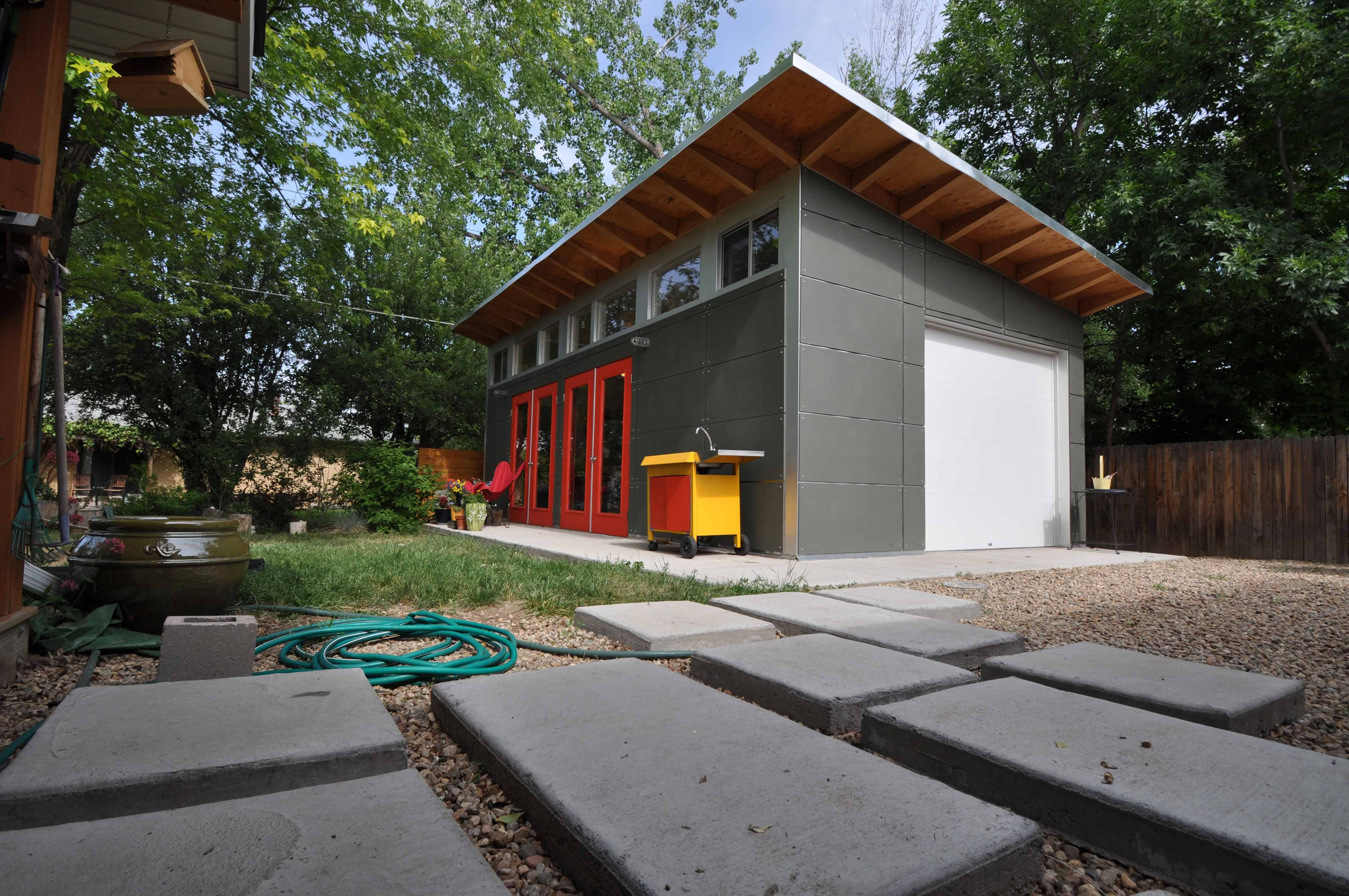 Prefab Backyard Studio U0026 Home Office Sheds | Plan U0026 Design Your Own Modern  Custom Studio