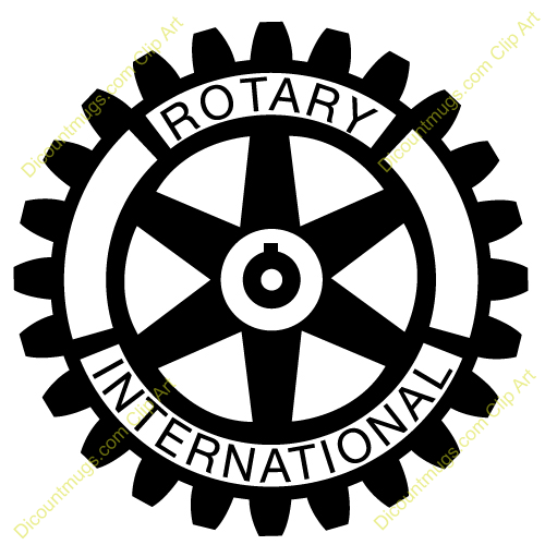 Rotary Club Logo Car Truck Outdoor Decal Sticker 4/""