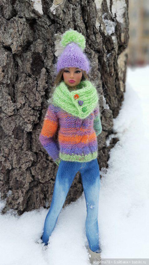 Зимняя фотосессия Натали / Fashion Royalty / Бэйбики ...