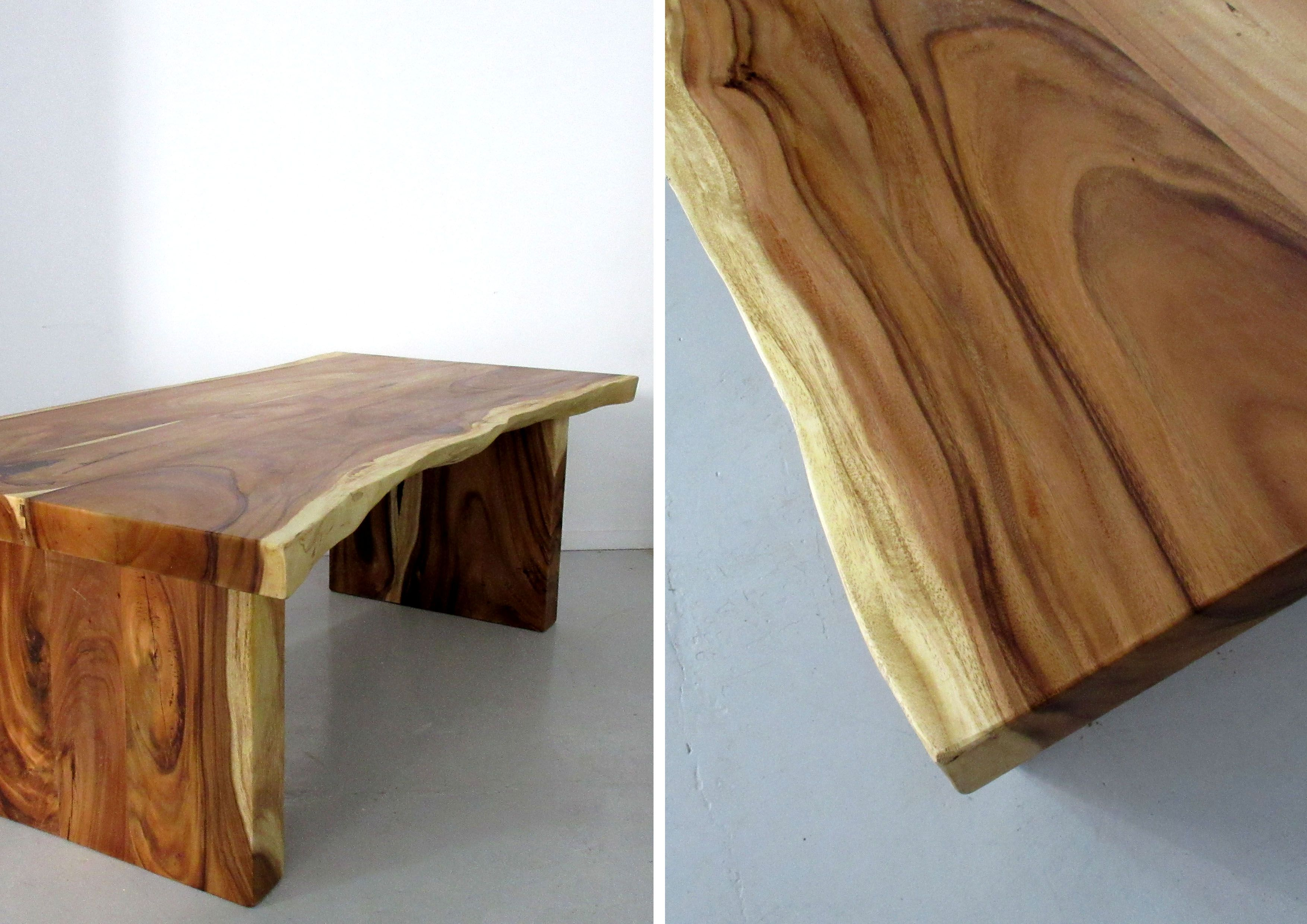 This Table Are Is Of Saur Wood That Is Grown In The Malaysian Tropical Forest This Non Endangered And F Live Edge Wood Dining Table Wood Slab Table Wood Table
