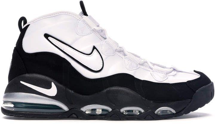 Nike Uptempo 95 White Black Teal (20112015) in 2019 | Black