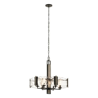 Kichler lighting 43895oz aberdeen 6 light chandelier