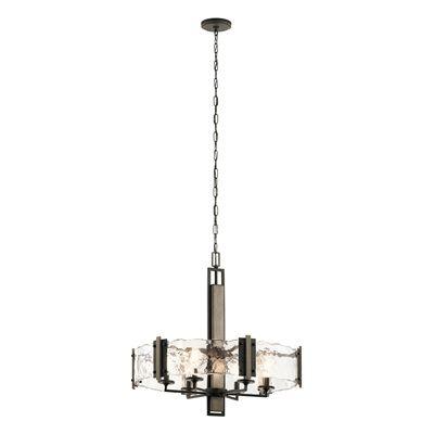 Kichler lighting 43895oz aberdeen 6 light chandelier