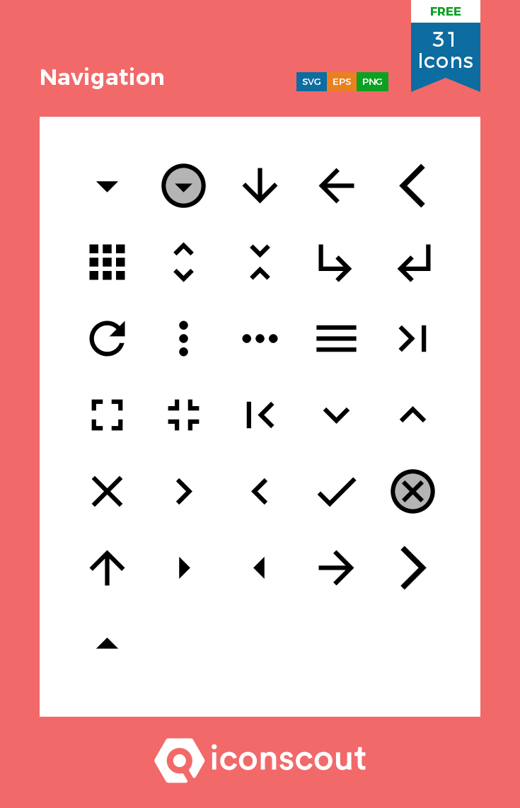 Download Navigation Icon Pack Available In Svg Png Eps Ai Icon Fonts Icon Pack Icon Icon Font