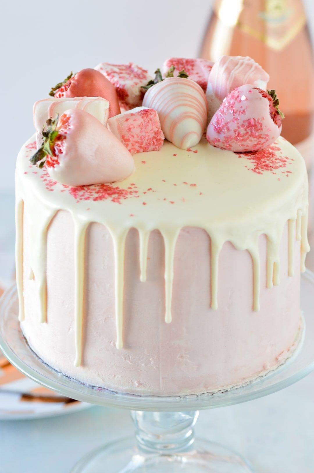 Photo of Perfect White Chocolate Drip – Partylicious #Cake #birthday cake #cake #cake dec…