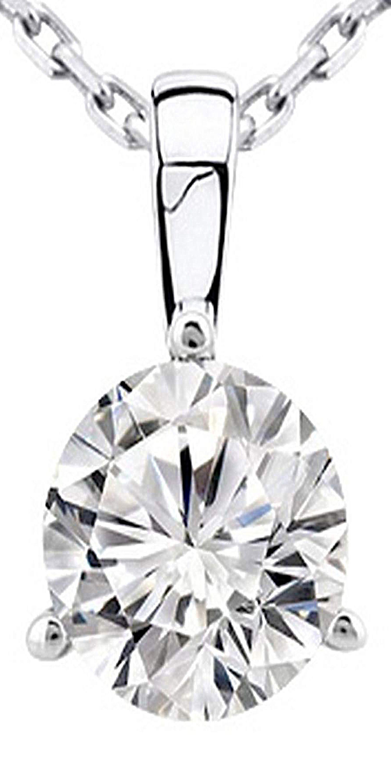 0 5 1 2 Carat 14k White Gold Round Diamond Solitaire