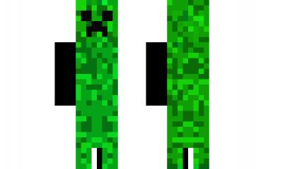 Minecraft Skin Creeper Head Lol