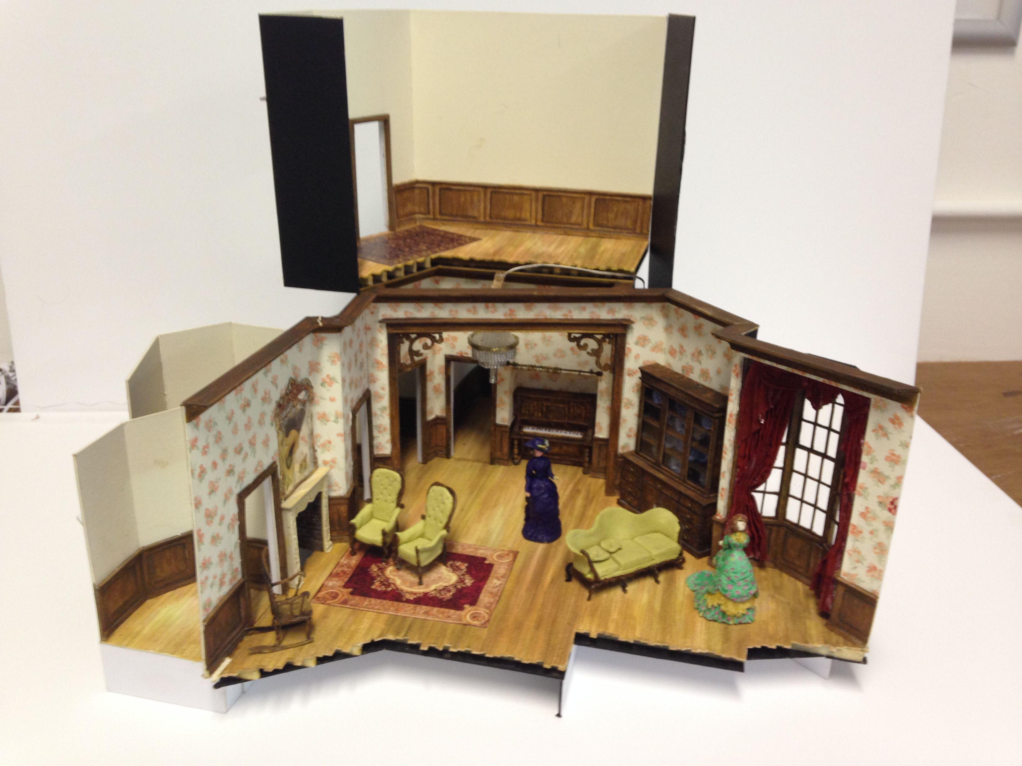1 25 Model For Henrik Ibsen S A Doll S House Based On The