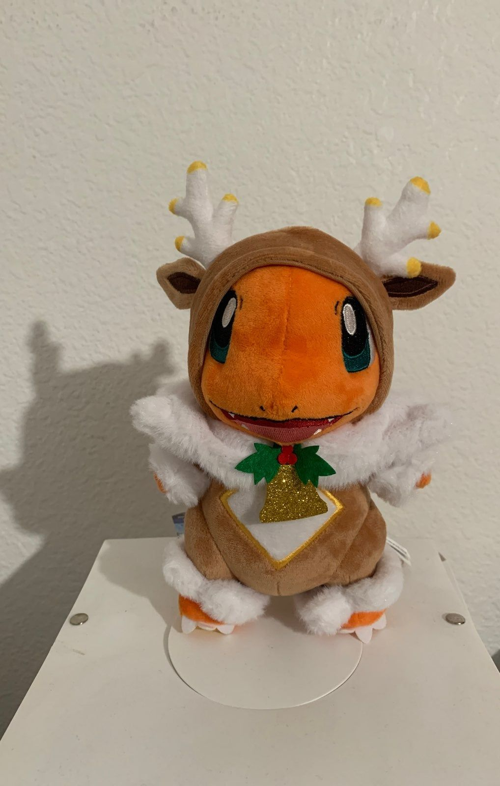 New Pokémon Holiday Light Christmas Plush Charmander with
