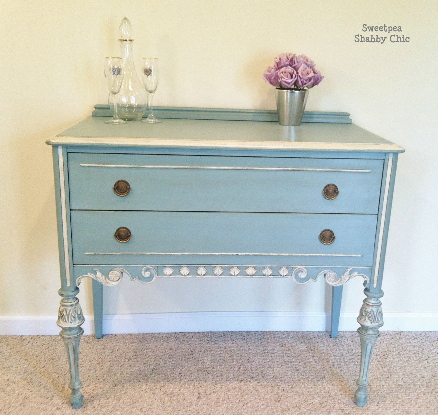 antique vintage 1930's shabby chic buffet/server | diy | pinterest