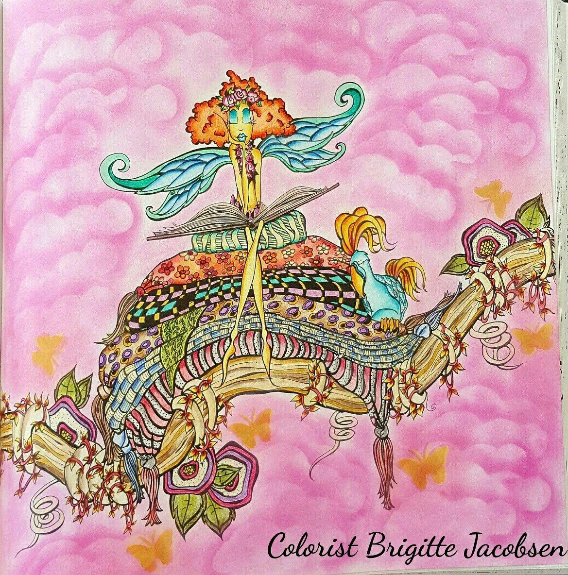 Zendoodle coloring enchanting gardens - Zendoodle Coloring Presents Fairies In Dreamland An Artist S Coloring Book Amazon Co Uk Denyse Klette Books Coloring Pinterest Coloring Books