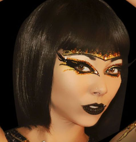 Halloween Xotic Eyes Self Adhesive Crystals Makeup Strips Costume Mask Accessory  | eBay #dancemakeup
