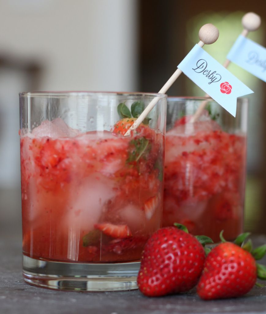 Raspberry Mint Ginger Drink Recipe