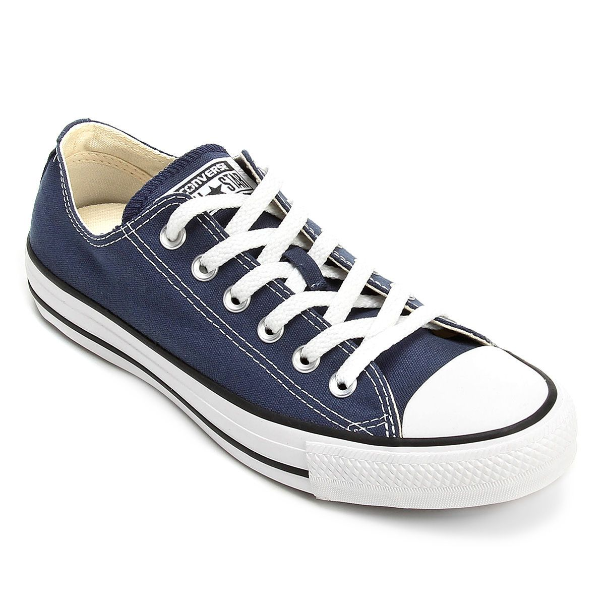 8027ed4da1 Tênis Converse All Star Ct As Core Ox - Marinho e Preto