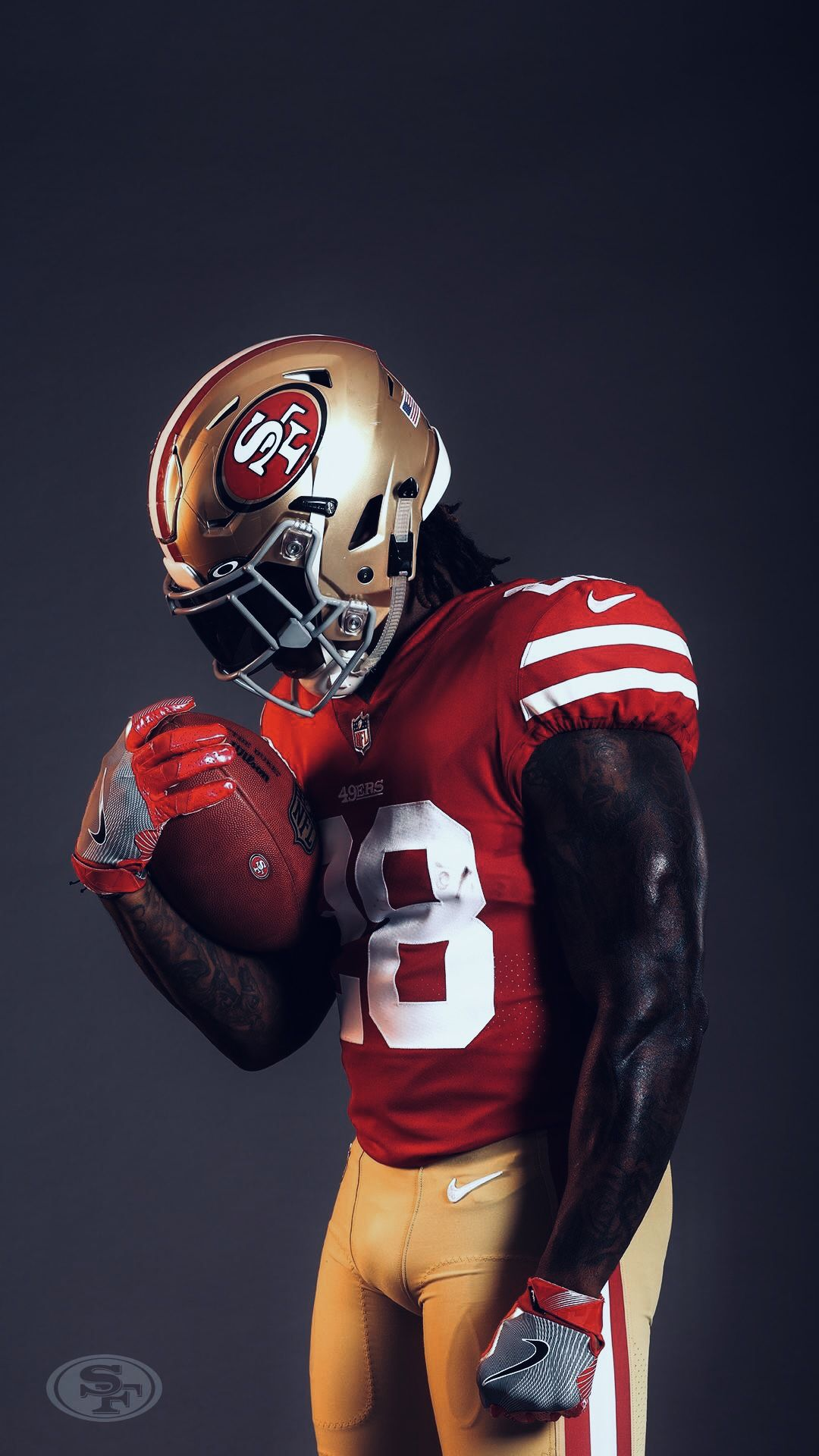 Black 49ers Wallpaper Iphone In 2020 49ers San Francisco 49ers Football Nfl 49ers