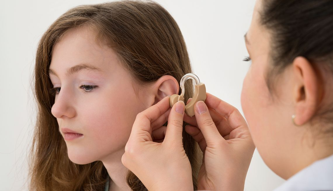 hearing loss suffer Teens