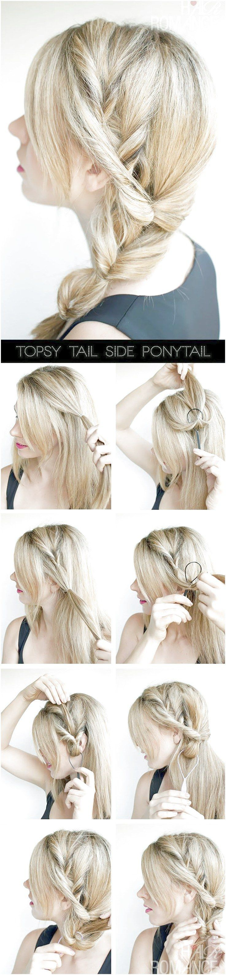 6 Easy & Pretty Prom Hairstyles   Hair romance, Long hair ...
