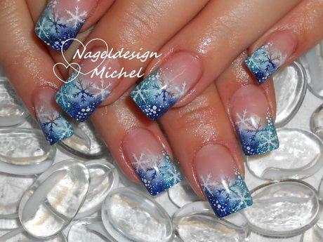 Winternagelnageldesign Winter Bilder Nails Nails Winter Nail