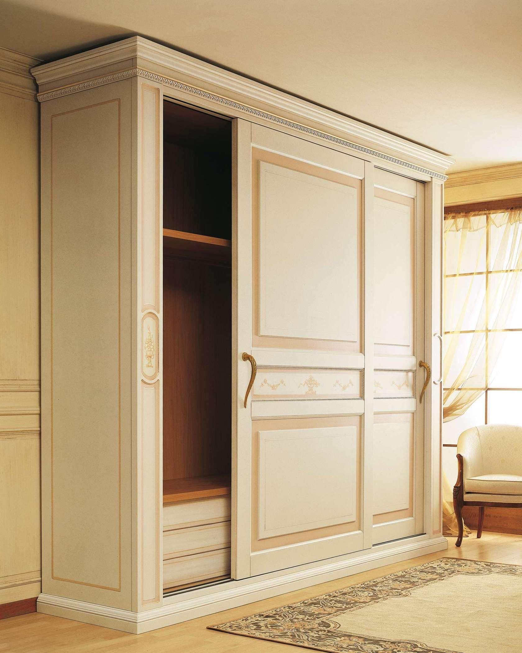 Classic Wardrobe Canova Sliding Doors Vimercati Classic Furniture Wardrobe Door Designs Wardrobe Furniture Small Space Interior Design
