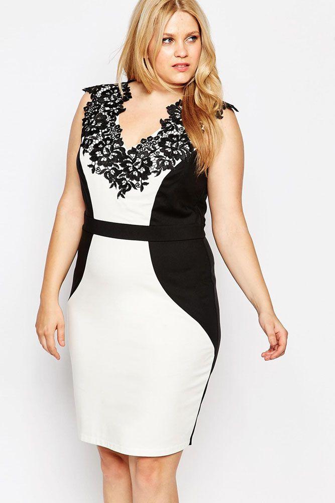 c0e095dbec Vestido PV024  Bello y elegante vestido blanco con negro