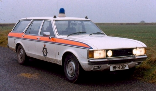 British 1975 Ford Granada Estate Police Cars Ford Police