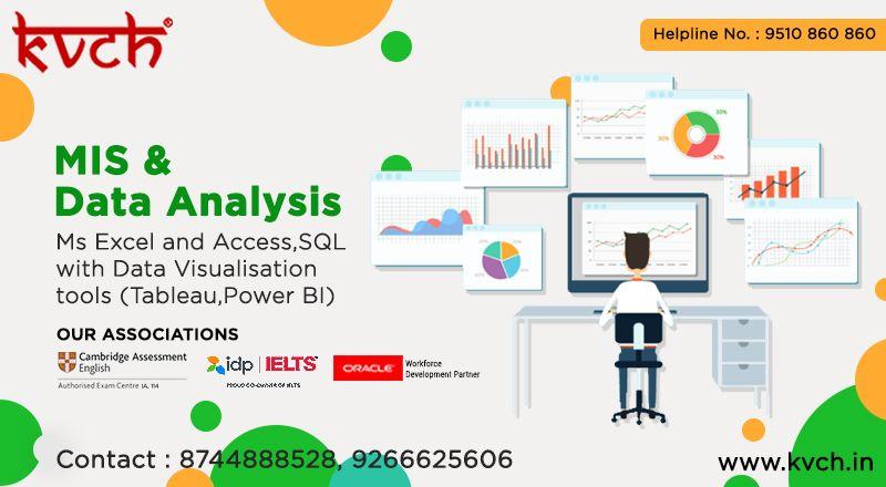 Best Mis Training Institute In Delhi Ncr Kvch Management Information Systems Data Visualization Tools Data Analysis