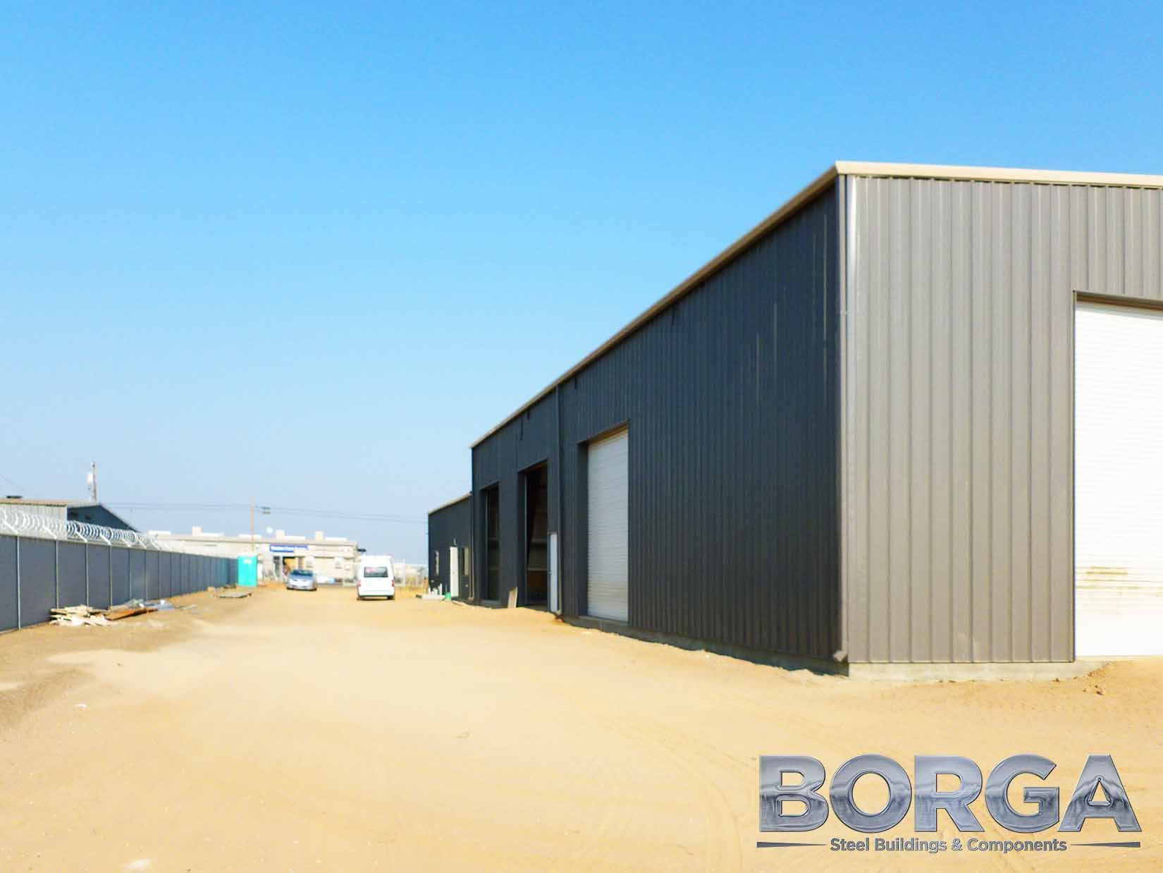 Borga Steel Buildings Fresno California Metal Construction