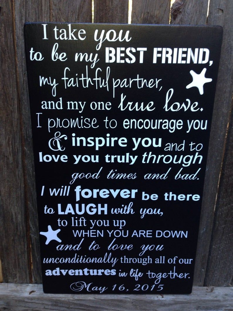 Nautical Wedding Vows Sign Nautical Wedding Decor Beach