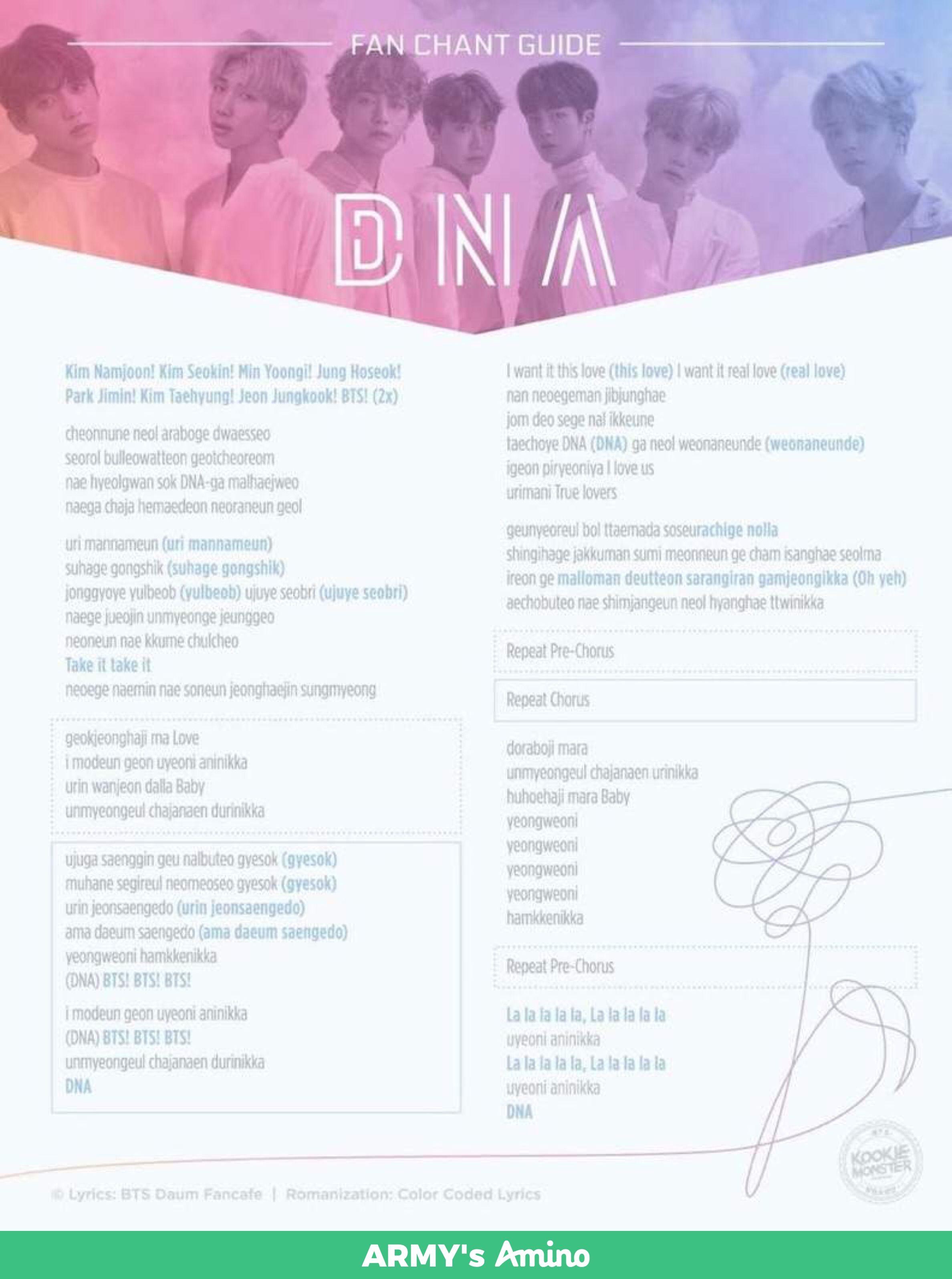 Dna Romanized Lyrics : romanized, lyrics, Princess_bby, Wallpaper, Lyrics,, Lyric