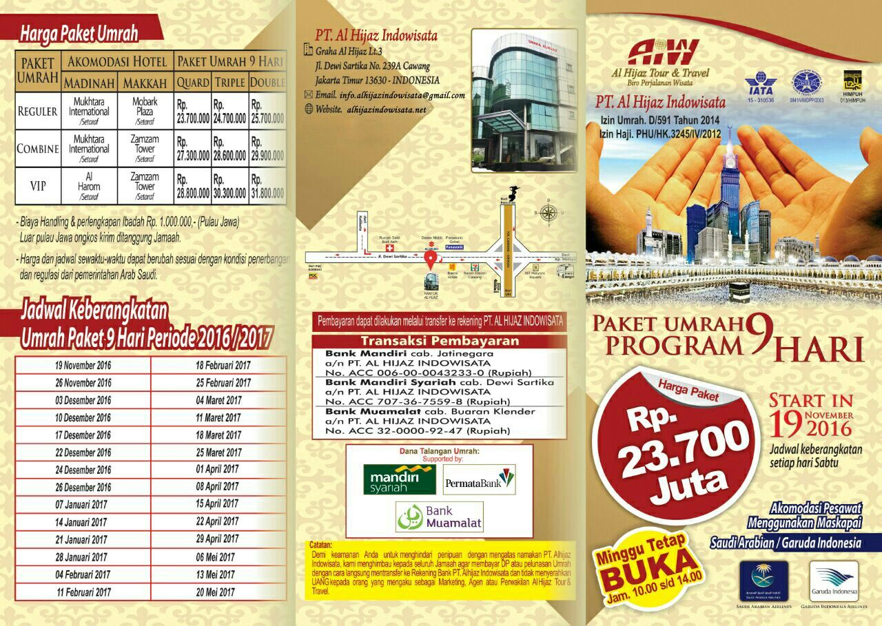 travel alhijaz indowisata 08111-34-1212