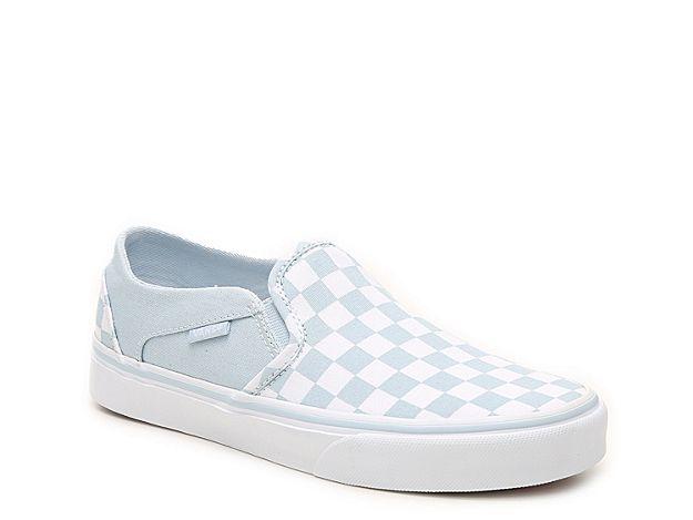 Women Asher Checkered Slip-On Sneaker