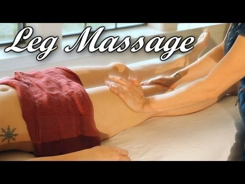 how to massage legs swedish vs deep tissue therapy