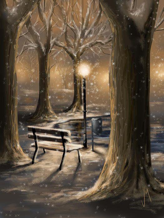 Trees Art Print by Veronica Minozzi