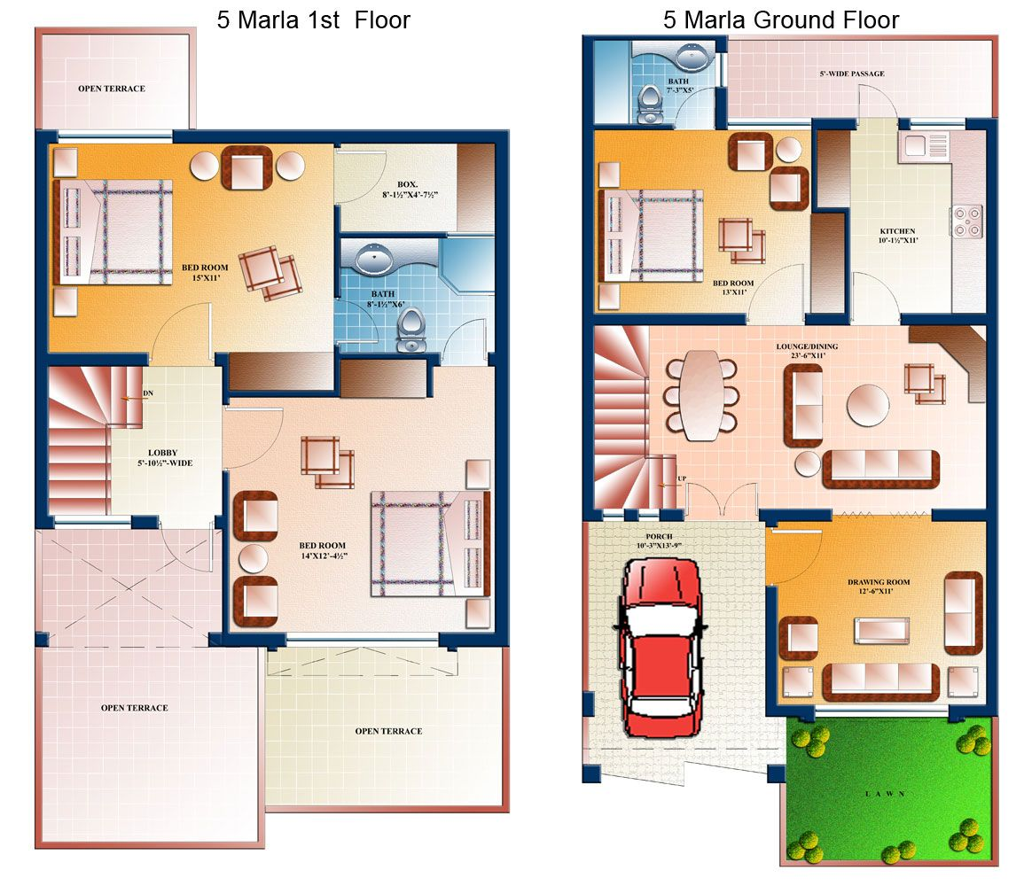 Marla apartment 8 marla website group five wocland villas