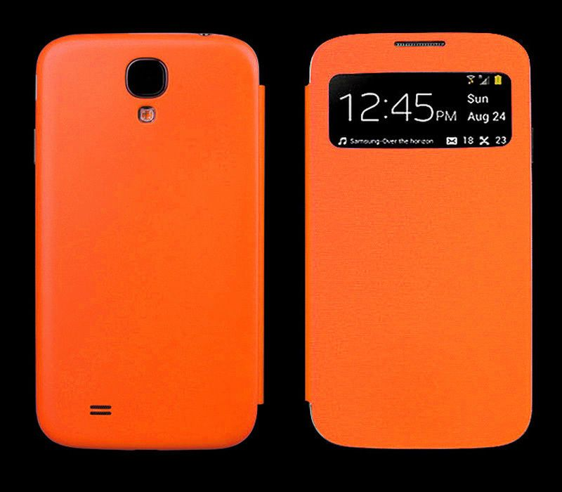 check out a8489 2c744 New Smart S-VIEW Flip Battery Case Cover For SAMSUNG GALAXY S4 Mini ...