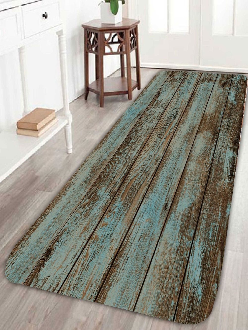 Badbilder Wood Grain Print Bathroom Rug Decorating Ideas Haus Und Heim
