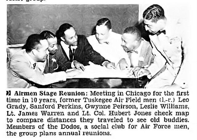 Tuskegee Airmen Reunion Jet Magazine September 1 1955 With