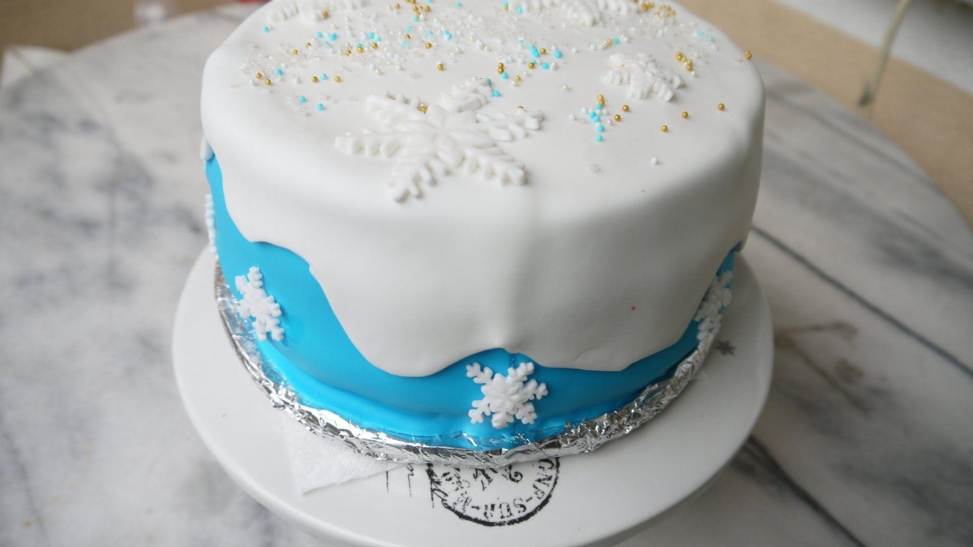 diy torte dekorieren mit fondant selber machen frozen cake elsa torte torte pinterest. Black Bedroom Furniture Sets. Home Design Ideas