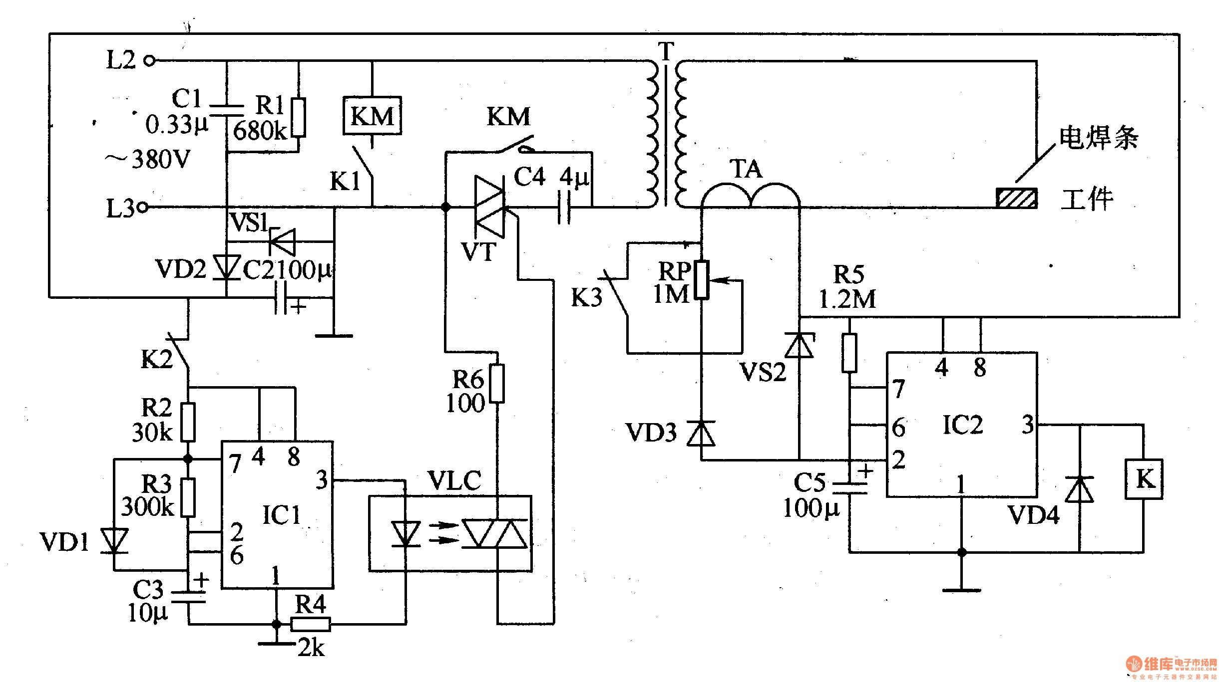 Free Electronic Circuit Collection Dancing Led Schematic