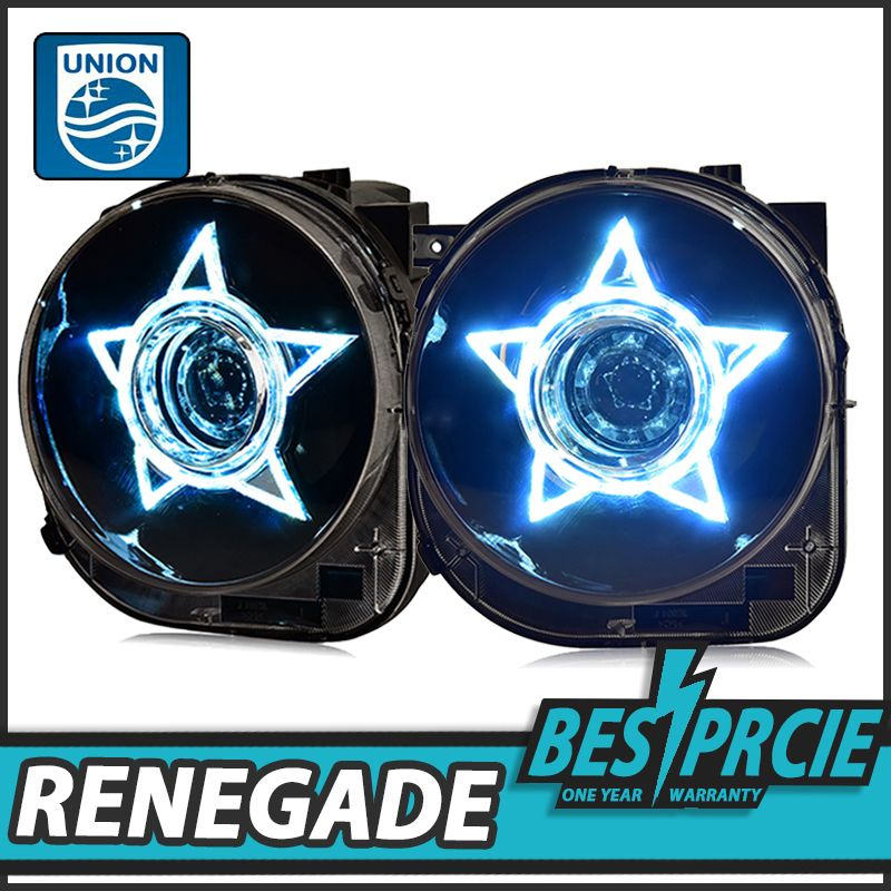 Union Car Styling For Renegade Headlights For Renegade Hid Head