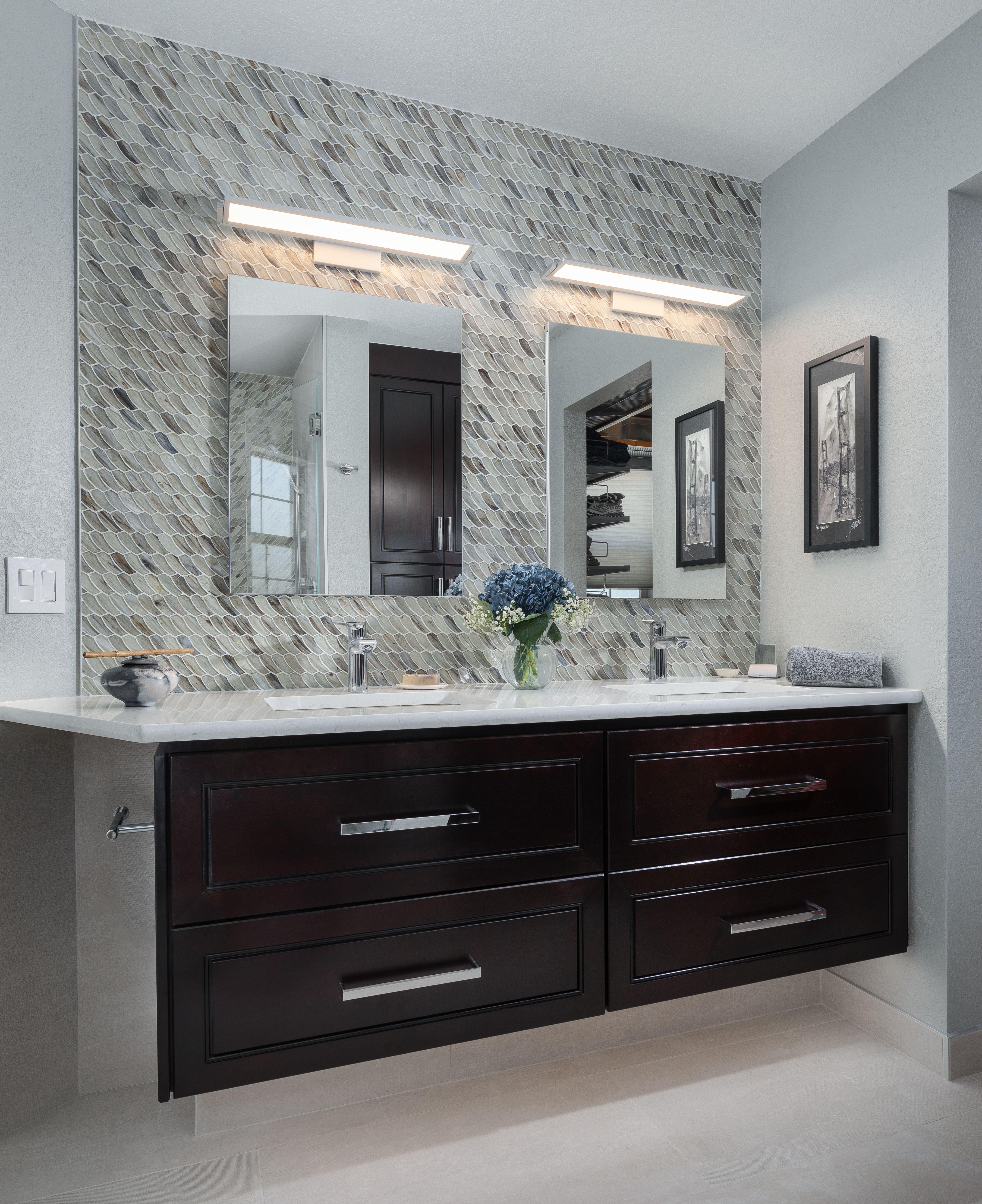 Floating Vanity Design - Denver, Colorado | Baths interior ...