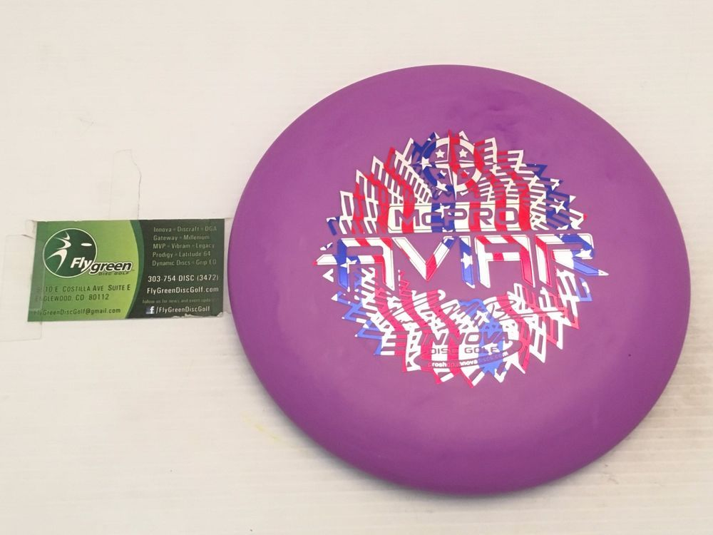Rare New Innova Disc Golf Purple Swirly Tour Paul Mcbeth Mcpro Aviar 175g Putter Innova Disc Golf Disc Golf Swirly