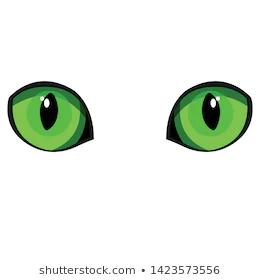 Green Cat Eyes Stock Vectors Images Vector Art Shutterstock Stock Vector Cats Vector Art