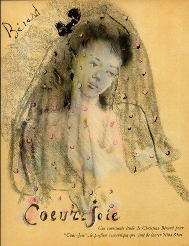 Coeur Joie - Nina Ricci (1945) Christian Bérard