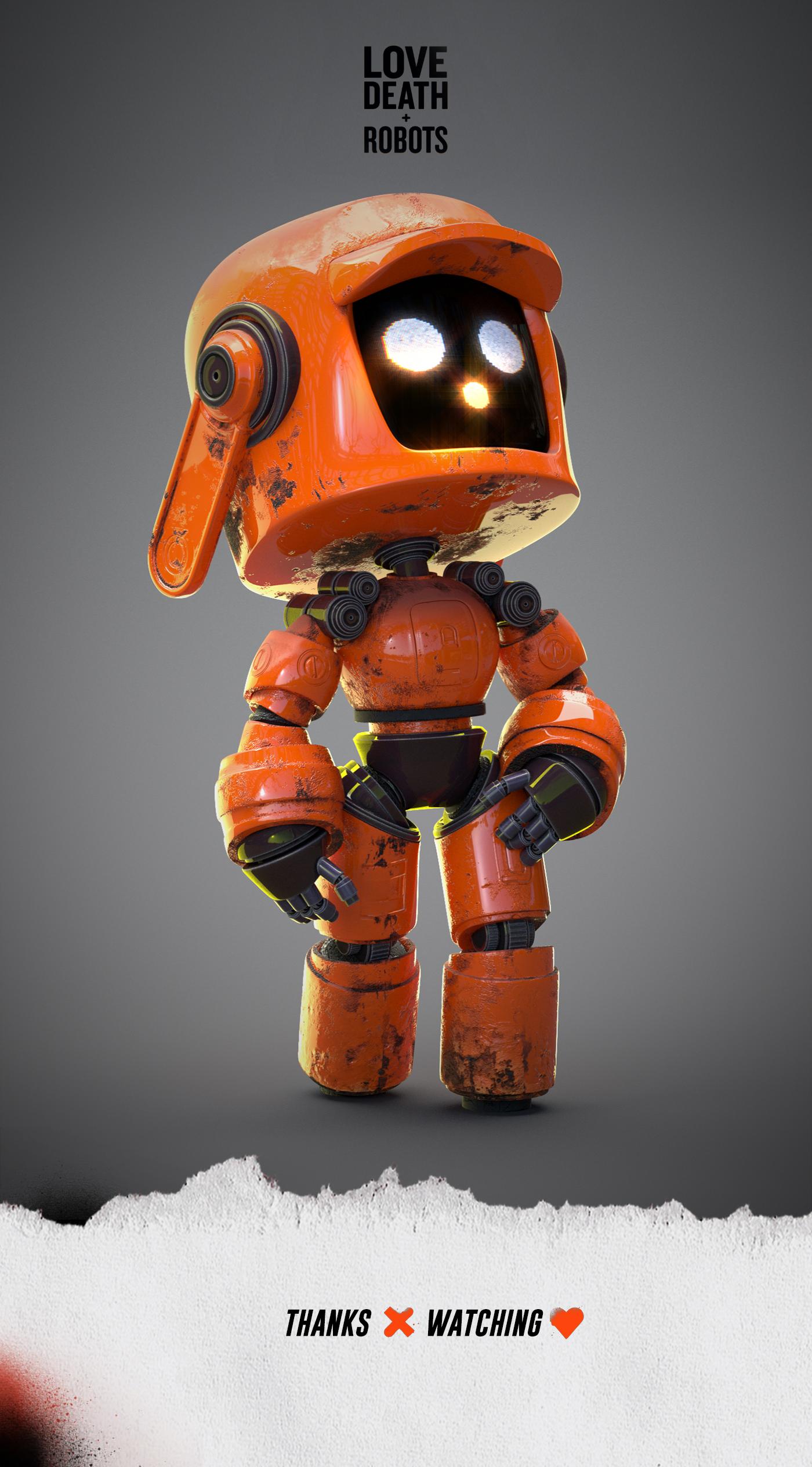 다음 Behance 프로젝트 확인 Love Death Robots Https Www Behance Net Gallery 82259043 Love Death Robots Robot Art Robot Cute Robot Wallpaper